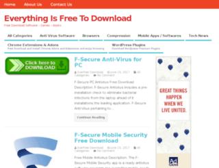 everfreedownload.com screenshot