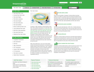 evergreencomm.com screenshot