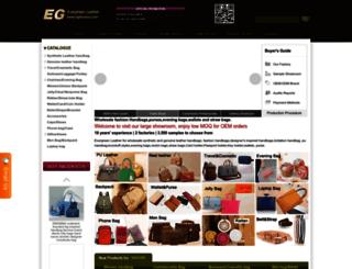 evergreenhandbag.com screenshot