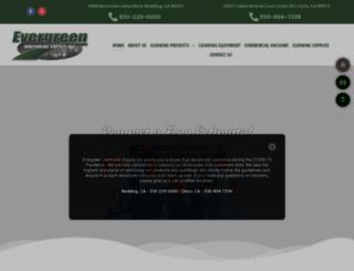 evergreenjanitorialsupply.net screenshot