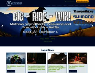 evergreenmtb.org screenshot
