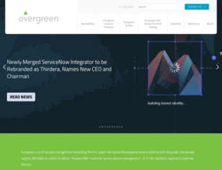 evergreensys.com screenshot