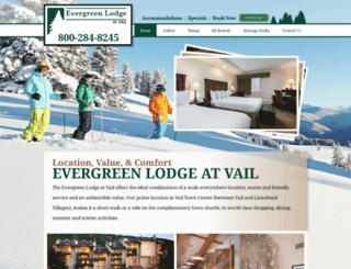 evergreenvail.com screenshot