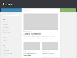 everindex.se screenshot