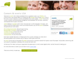 everis.hrmdirect.com screenshot