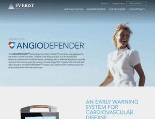 everistgenomics.com screenshot
