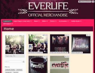 everlife.storenvy.com screenshot