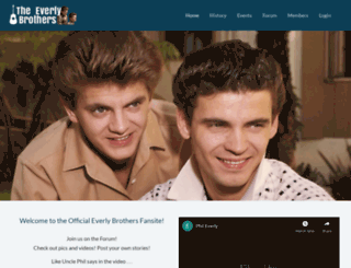 everlybrothers.net screenshot