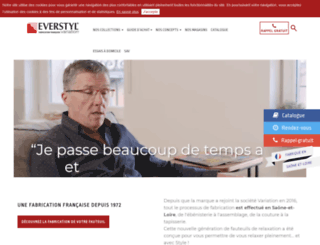 everstyl.fr screenshot
