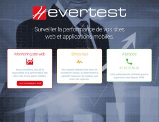 evertest.com screenshot
