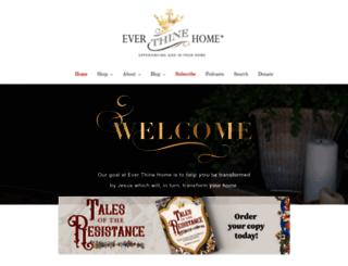 everthinehome.com screenshot