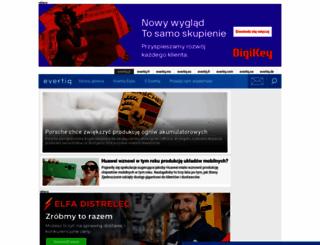 evertiq.pl screenshot