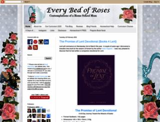 everybedofroses.blogspot.com.au screenshot