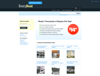 everyboat.com screenshot