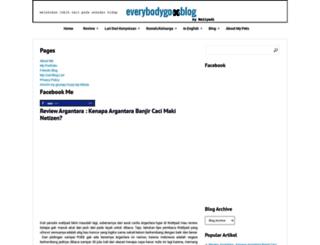 everybodygoesblog.com screenshot