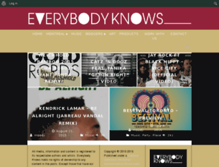 everybodyknows.ca screenshot