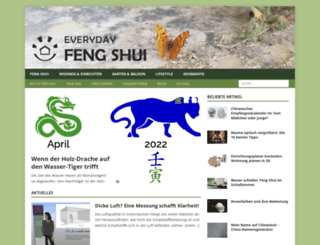 everyday-feng-shui.de screenshot
