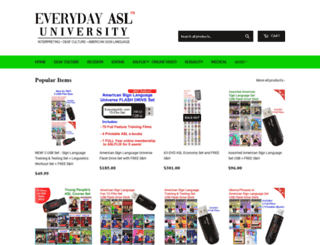 everydayasl.com screenshot