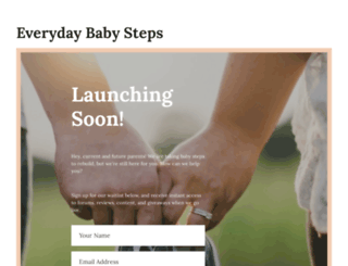 everydaybabysteps.com screenshot
