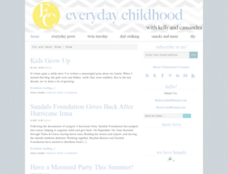 everydaychildhood.com screenshot