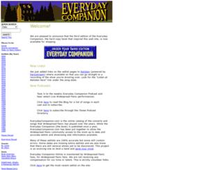 everydaycompanion.com screenshot