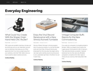everydayengineering.com screenshot