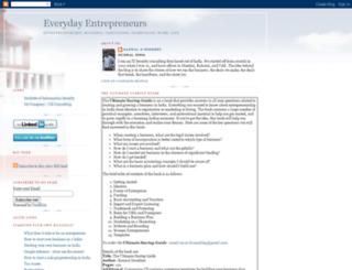 everydayentrepreneurs.blogspot.com screenshot