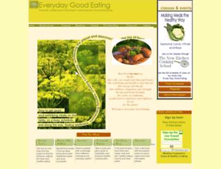 everydaygoodeating.com screenshot