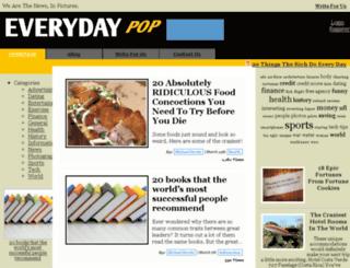 everydaypop.com screenshot