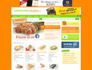 everydayrecipes.ca screenshot