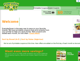everydaysaver.com screenshot