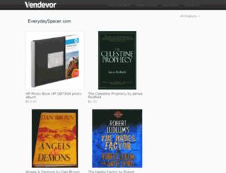 everydayspacer.vendevor.com screenshot