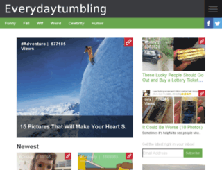 everydaytumbling.com screenshot