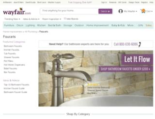 everyfaucet.com screenshot