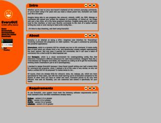 everygui.sourceforge.net screenshot