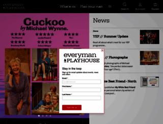 everymanplayhouse.com screenshot