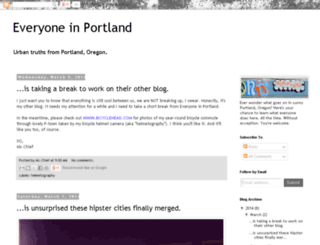 everyoneinportland.com screenshot