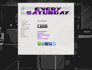 everysaturdaymusic.com screenshot