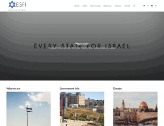 everystateforisrael.com screenshot
