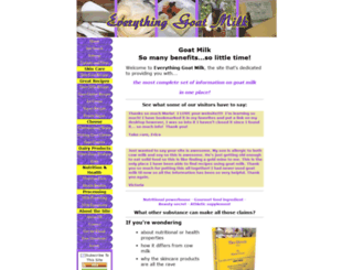 everything-goat-milk.com screenshot