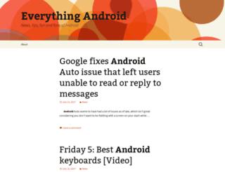 everythingandroid.com screenshot