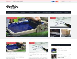 everythingapparel.com screenshot