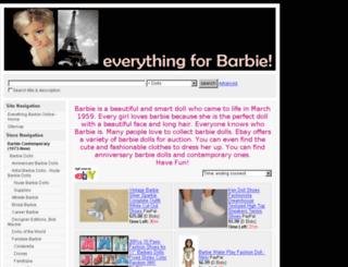 everythingbarbieonline.com screenshot