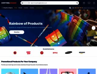 everythingbranded.co.uk screenshot