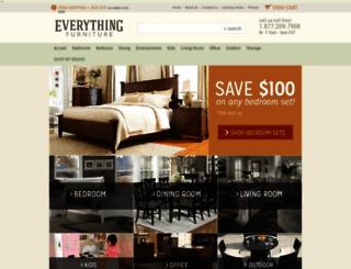 everythingfurniture.com screenshot