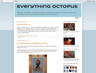 everythingoctopus.blogspot.com screenshot