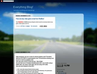 everythingy1.blogspot.com screenshot
