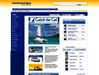 everytingantigua.net screenshot