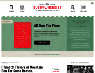 everywhereist.com screenshot