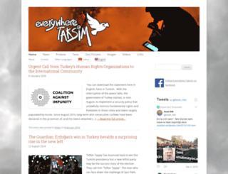 everywheretaksim.net screenshot